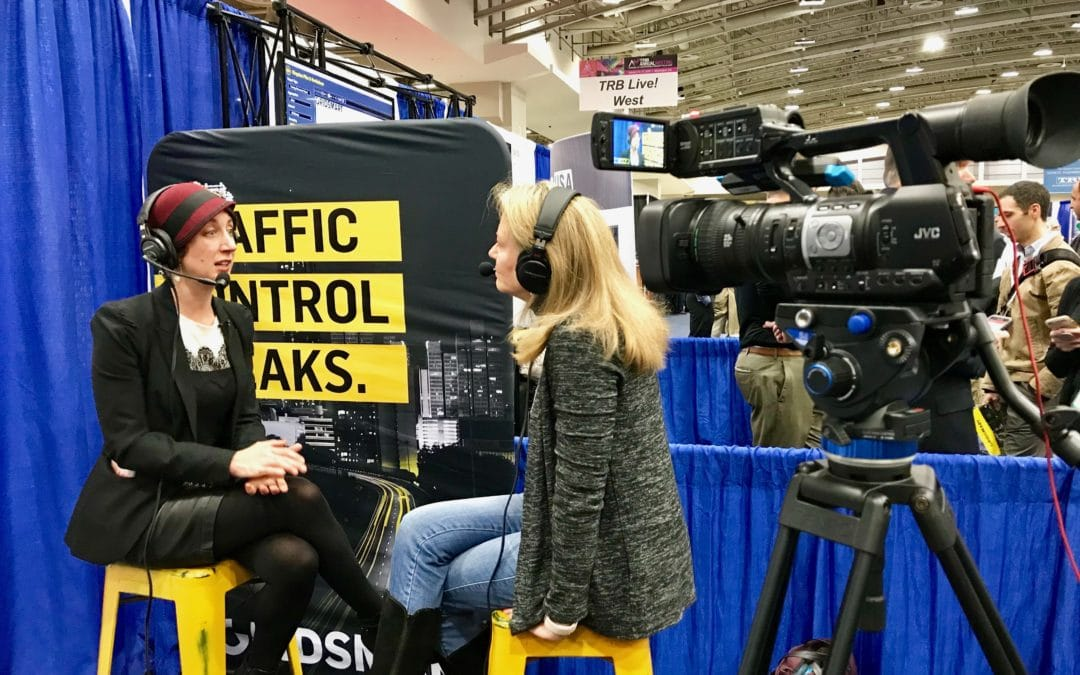 POLICYSMART 32:  Emerging Mobility and Disruptive Technology with Courtney Ehrlichman at the 2019 TRB Annual Meeting